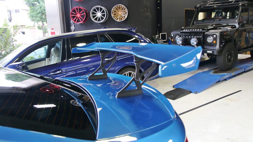 F87M2なお客様に、3Dデザイン レーシングウィングお取り付け!