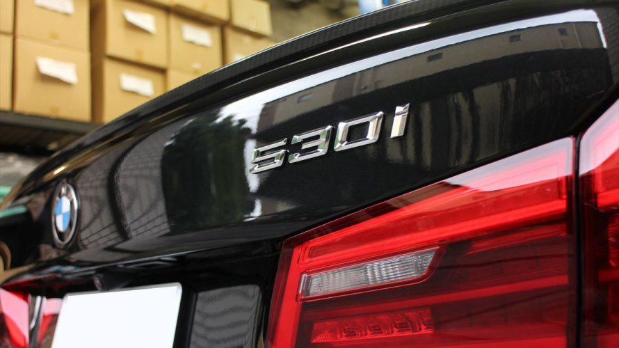 新車なBMWG30をアドラスカーボンコートの超ツヤ美観で**☆新車ぁぁなG30ぅぅ☆**に!