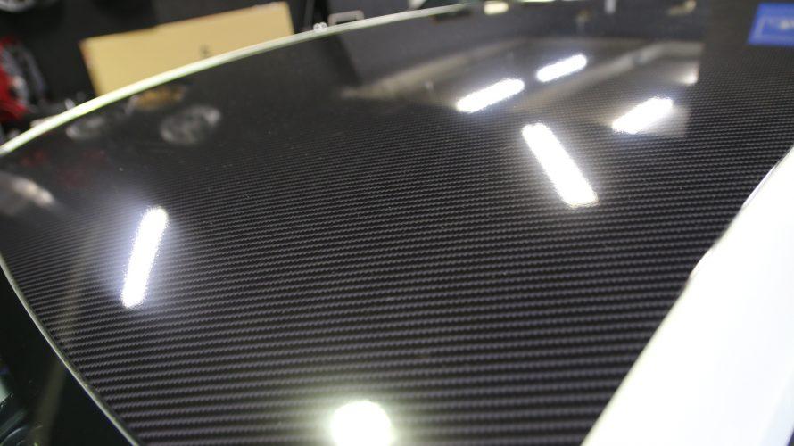VW ゴルフ R 7.5のルーフラッピング!