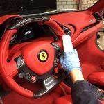 あけましてインテリアコーティング♪吉兆華麗なREDSEATS-Ferrari488Spider!
