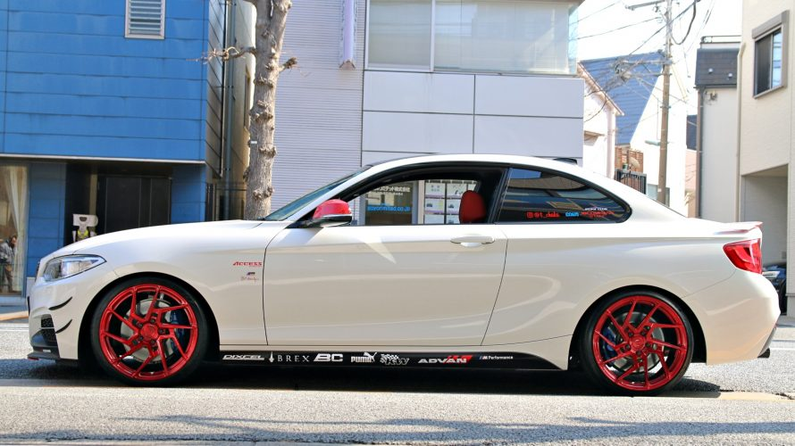 F22 M235に、BC FORGED EH168お取り付け!