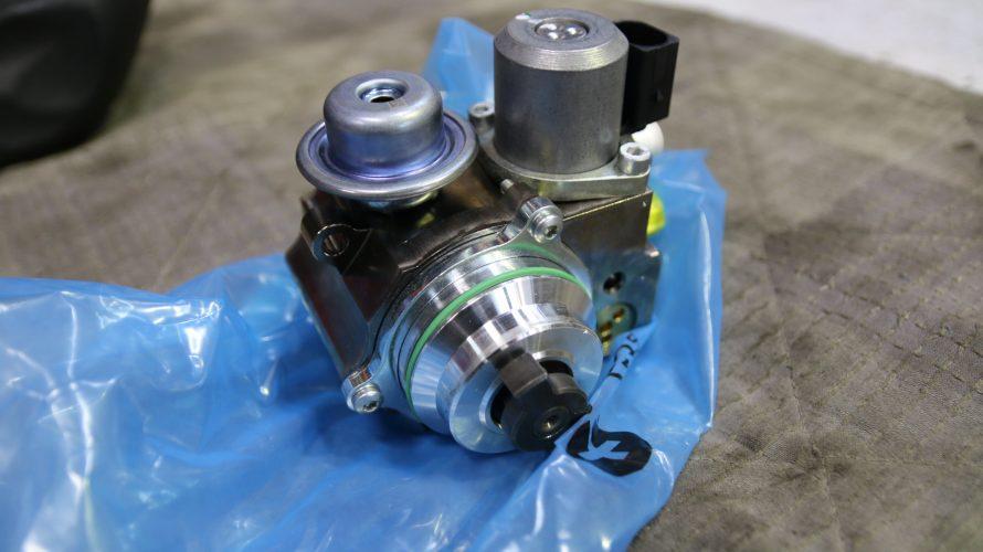 R60 MINI クロスオーバーの燃料高圧ポンプ交換!