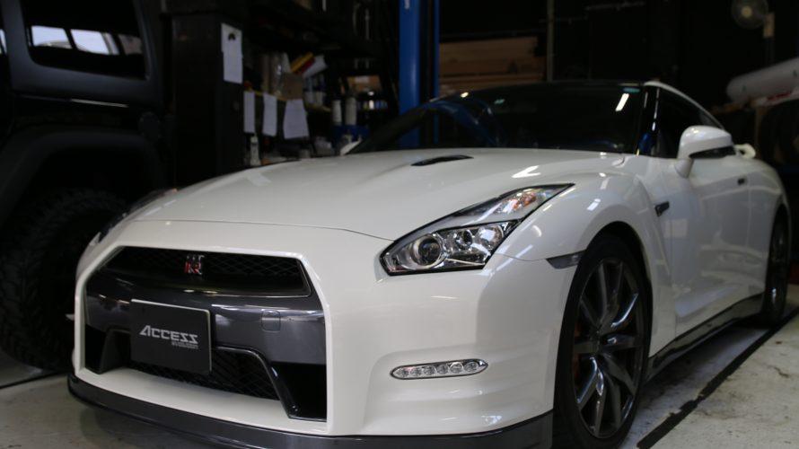 R35 GTRを買取させていただきました!