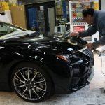 Lexus RC FにコーティングFULLコースでございましょう!