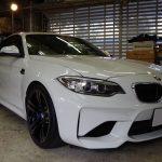 BMW M2にメンテナンスコーティングなどいろいろと!