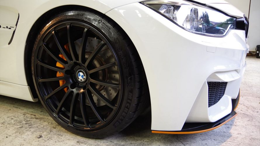 BMW F31に メンテナンスコーティング!ホイールも