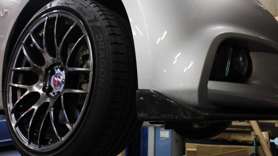 V36スカイラインセダンがクールスポーティー&&ビュっティーという最高の称号を持ったキてる日産になるフロントリップお取り付け!