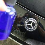 Mercedes-Benz CLS450 品格ボディにAdlaS親水ガラスコーティング-ハイドロフィリー!