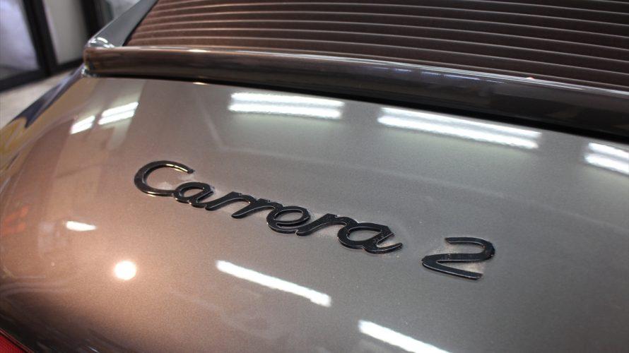 用賀あたりでは2度見するほど美しい空冷Porscheをよく見かけるらしい