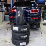 MINI F54 タイヤ交換!