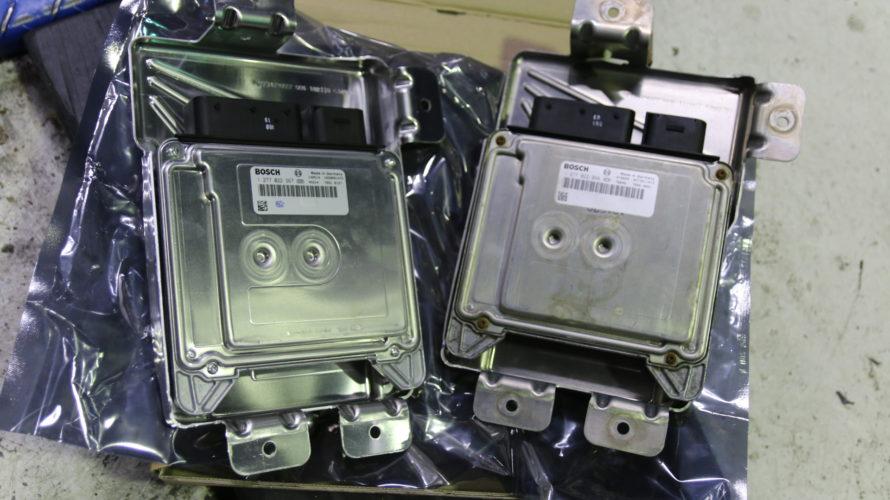 E60なお客様の、アクティブステアリング修理&オイル漏れ修理!