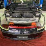 991 カレラ4Sの車検整備&断熱フィルム!!
