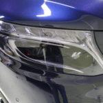 そのガラスコート、まさにVictoryな美観、Mercedes-Benz V-classにBRAVEガラスコーティング!