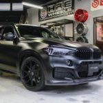 F16X6にHRE P101 22inch&3Dデザイン車高調お取り付け!