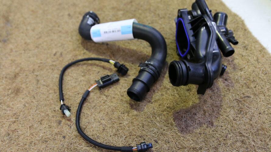 MINI R56の水漏れ修理&Rebtechチューニング施工など。