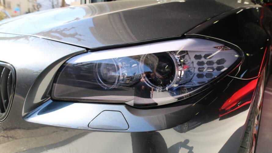 F11なお客様に、STEKヘッドライトスモーク施工。