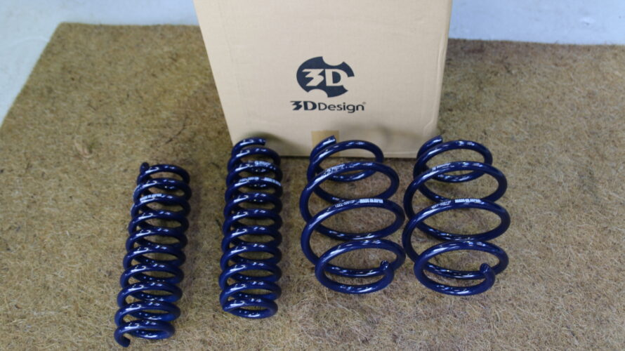 G20 320d Xriveに、3Dデザイン ローダウンスプリングお取り付け!