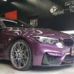 BMW M3  定番カーボンコート+プロテクションフィルム