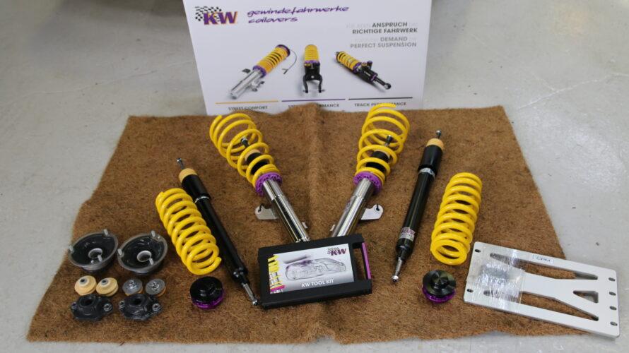 E93 335なお客様に、KW Ver1&CPMお取り付け!