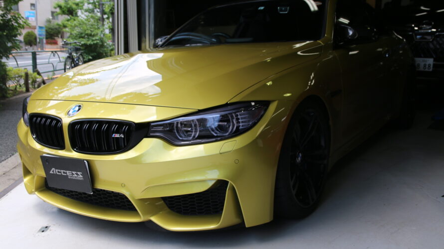 F82M4に、HEXTUNING STAGE1施工。