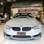 BMW M4 ボディコーティング、プロテクションフィルム