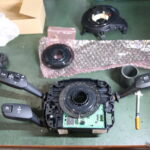 E91 335なお客様の舵角センサー交換