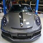 ポルシェ 911 GT3にSTEKプロテクションフィルム施工!